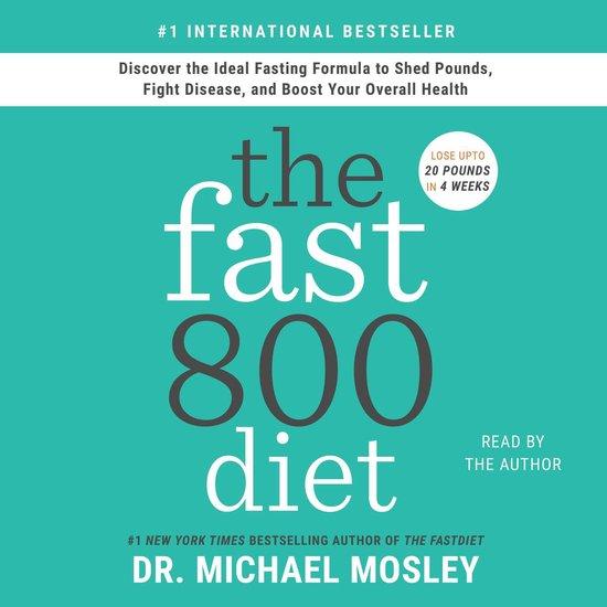Boek cover The Fast800 Diet van Dr Dr Michael Mosley (Onbekend)