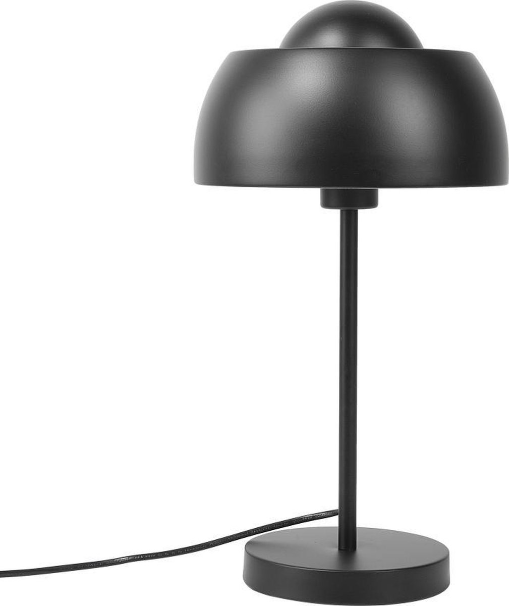 Beliani SENETTE Tafellamp Zwart Metaal
