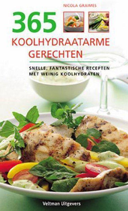 Boek cover 365 koolhydraatarme recepten van Nicola Graimes (Paperback)