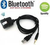 usb aux bluetooth spotify youtube iPhone android fiat 500 autoradio