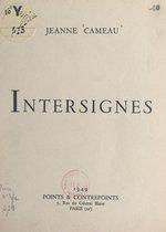 Omslag Intersignes