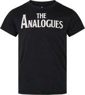 The Analogues logo T-shirt zwart