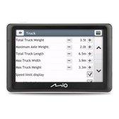 """Mio Spirit 7700 LM Truck navigator 12,7 cm (5"""") Touchscreen Vast Zwart 178 g"""
