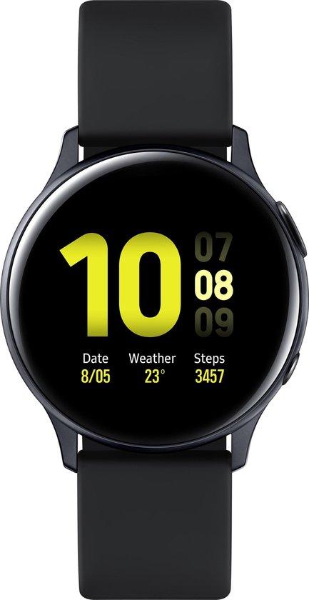 Samsung Galaxy Watch Active2 - Aluminium - 40mm - Zwart