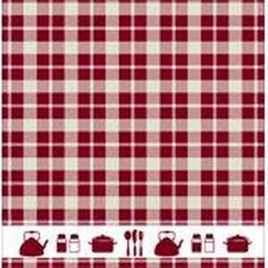 DDDDD Keukendoek Kitchen Red (6 stuks)