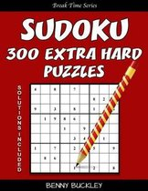 Sudoku 300 Extra Hard Puzzles. Solutions Included