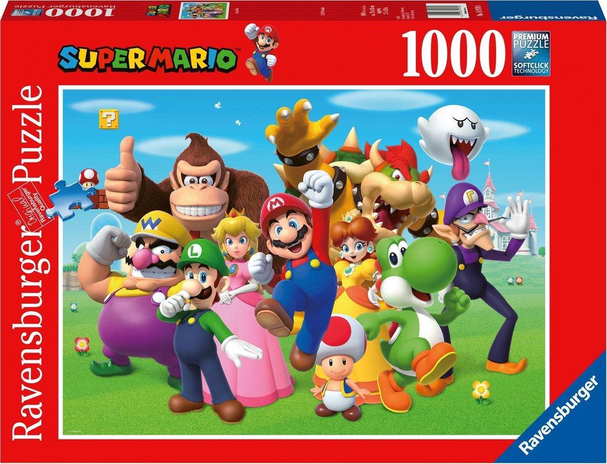 Ravensburger puzzel Super Mario - legpuzzel - 1000 stukjes