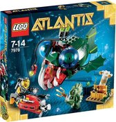 LEGO Atlantis Zeeduivelaanval - 7978