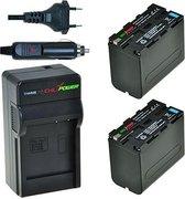 ChiliPower NP-F970 Sony Kit - Camera Batterij Set