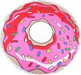 Roundie strandlaken rond - Donut - handdoek