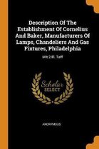 Description of the Establishment of Cornelius and Baker, Manufacturers of Lamps, Chandeliers and Gas Fixtures, Philadelphia