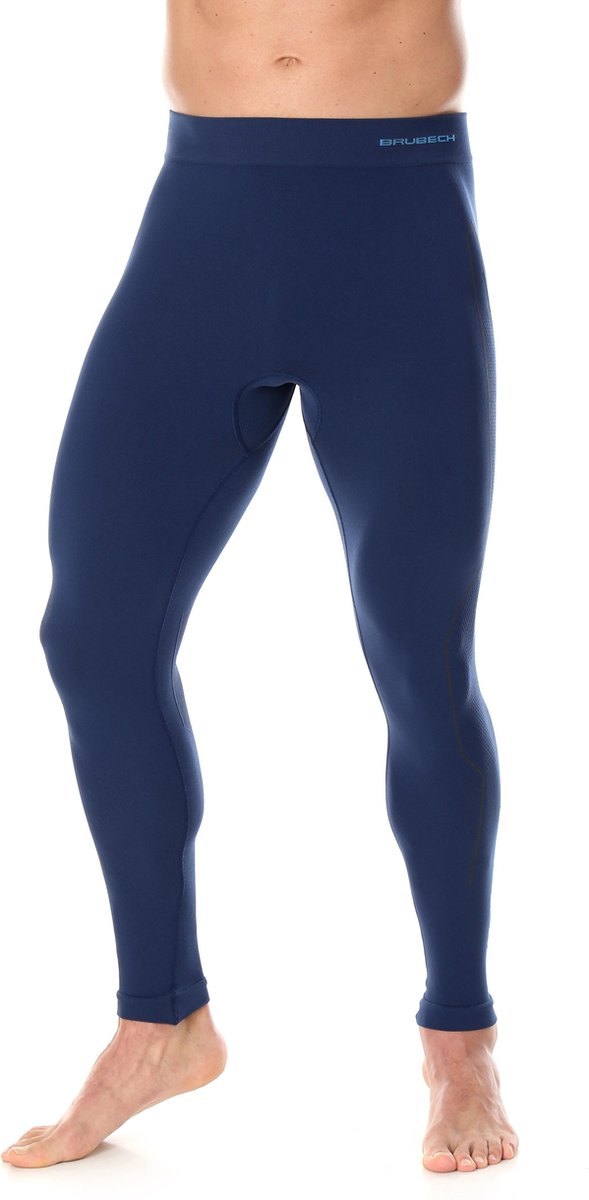 Heren Thermobroek - Thermokleding - met Nilit® HEAT-Marineblauw-L