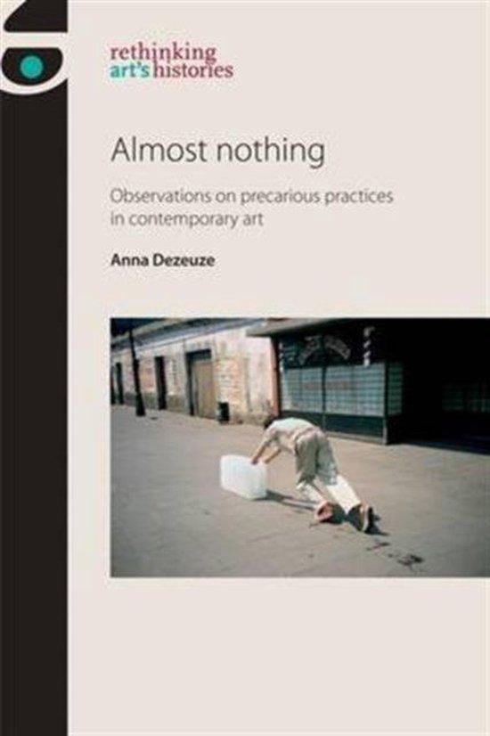 Boek cover Almost Nothing van Anna Dezeuze (Paperback)