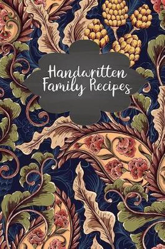 Handwritten Family Recipes