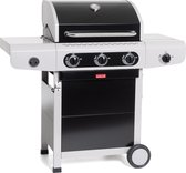 Barbecook Siesta 310 Gasbarbecue - 3 brander - Black Edition