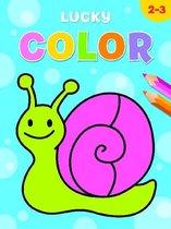 kleurboek Lucky color 21 cm