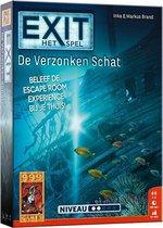 EXIT De Verzonken Schat Breinbreker - Escape Room - Bordspel