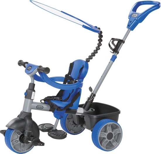 Little Tikes 4-in-1 Blauw - Driewieler - Little Tikes