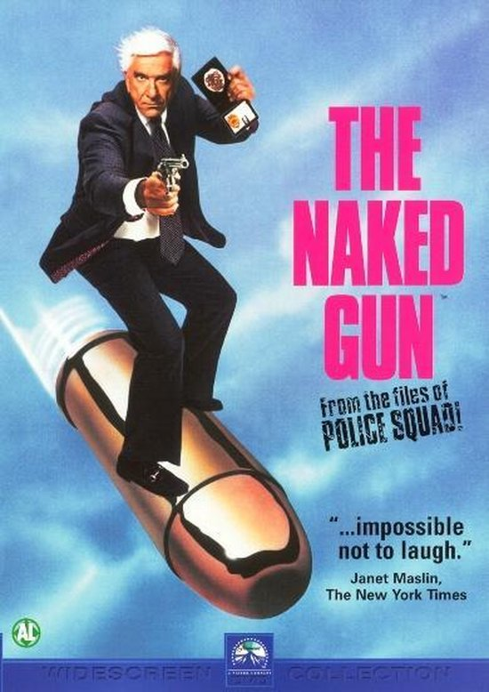Cover van de film 'Naked Gun'