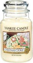 Yankee Candle Large Jar Geurkaars - Christmas Cookie