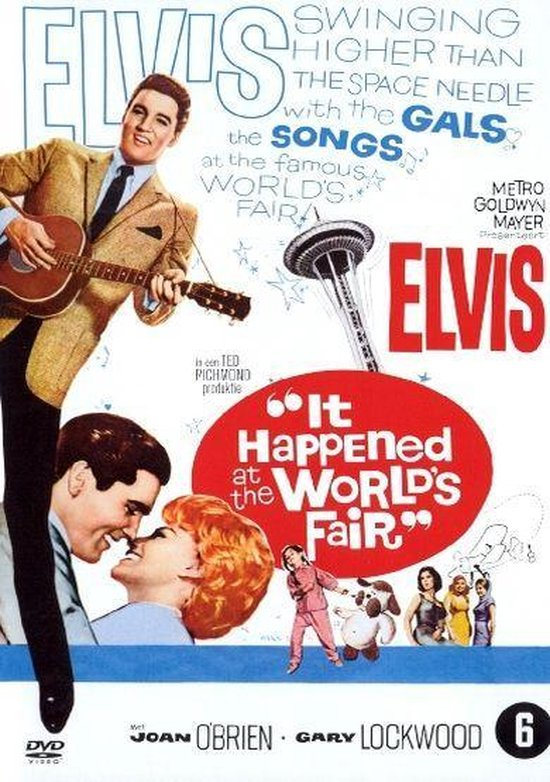 Cover van de film 'It Happened At The World'S Fair'
