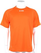 Jako Shirt Fire KM - Sportshirt - Kinderen - Maat 116 - Oranje