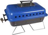 Bruce Tafel Barbecue - 1 Brander - Blauw/Zwart