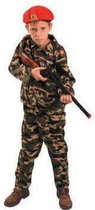 Leger Action Force Camouflage - Kostuum - Maat 128