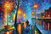 Melody of the Night romantiek kunst poster - Leonid Afremov - 61x91.5cm
