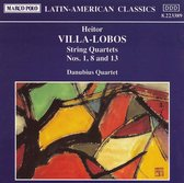 Villa-Lobos: String Quartet Nos.1, 8 & 13