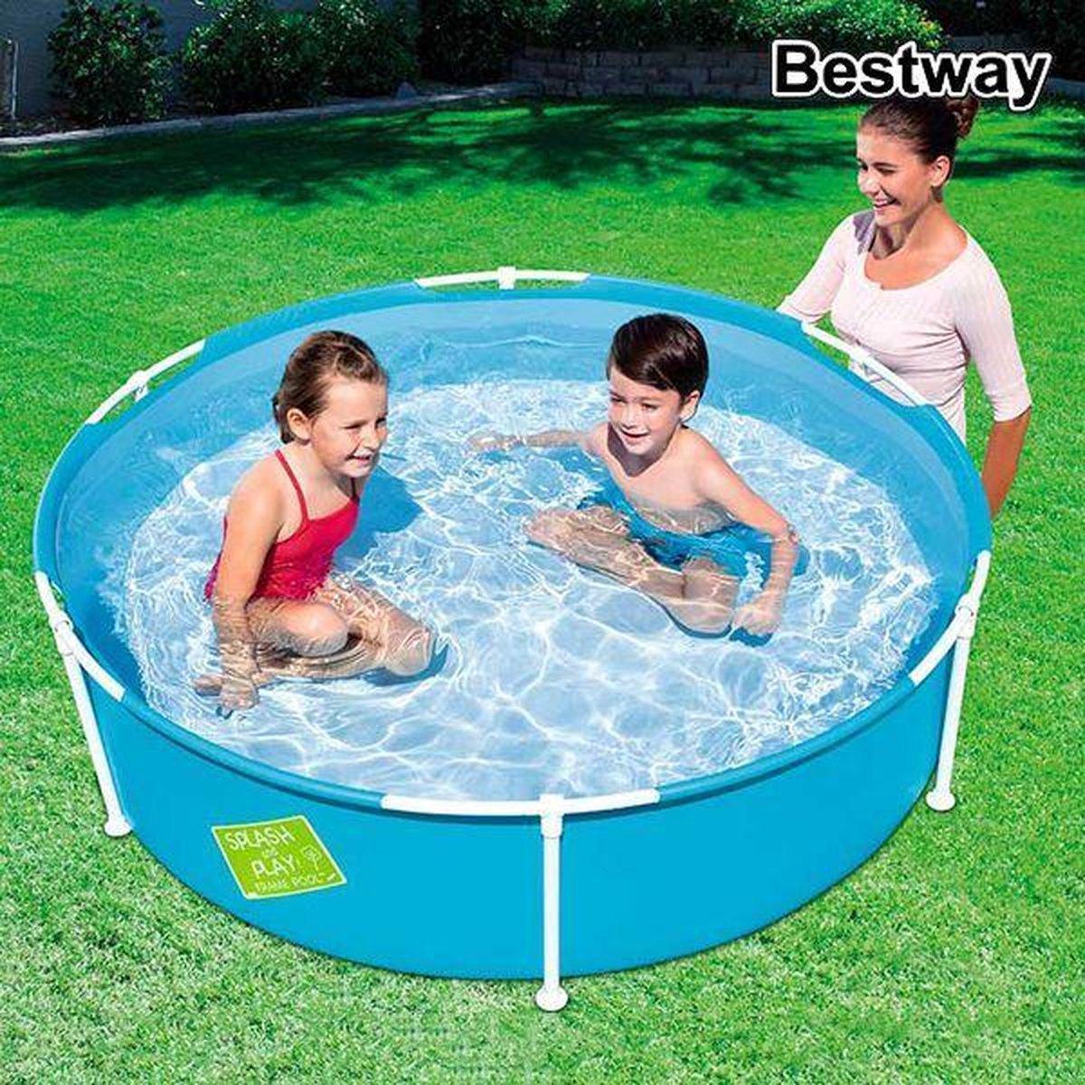 Zwembad Verwijderbaar Bestway 56283 580 L (152 x 38 cm)