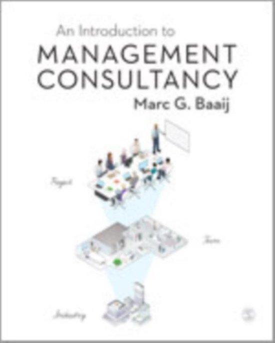 Boek cover An Introduction to Management Consultancy van Marc G. Baaij (Hardcover)