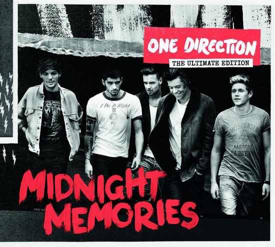 CD cover van Midnight Memories - The Ultimate Edition (International Edition) van One Direction
