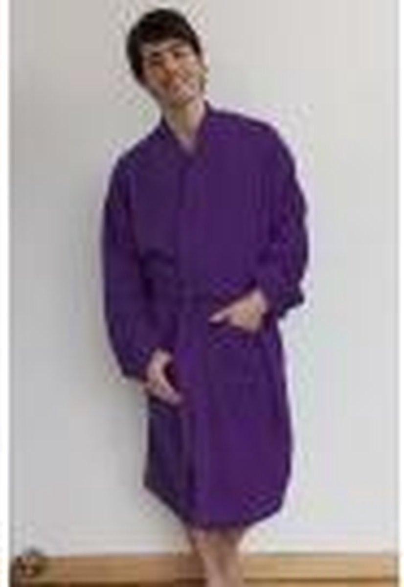 Comfy Co Kimono Robe badjas, kleur Purple, Maat S/M - Comfy Co.