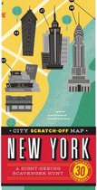 CITY SCRATCH-OFF MAP NEW YORK