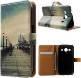 Bridge wallet hoesje Samsung Galaxy Ace 4 G357FZ