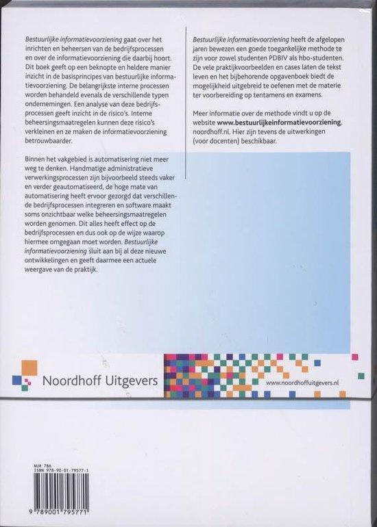 Bestuurlijke informatievoorziening - Willem Leijnse pdf epub