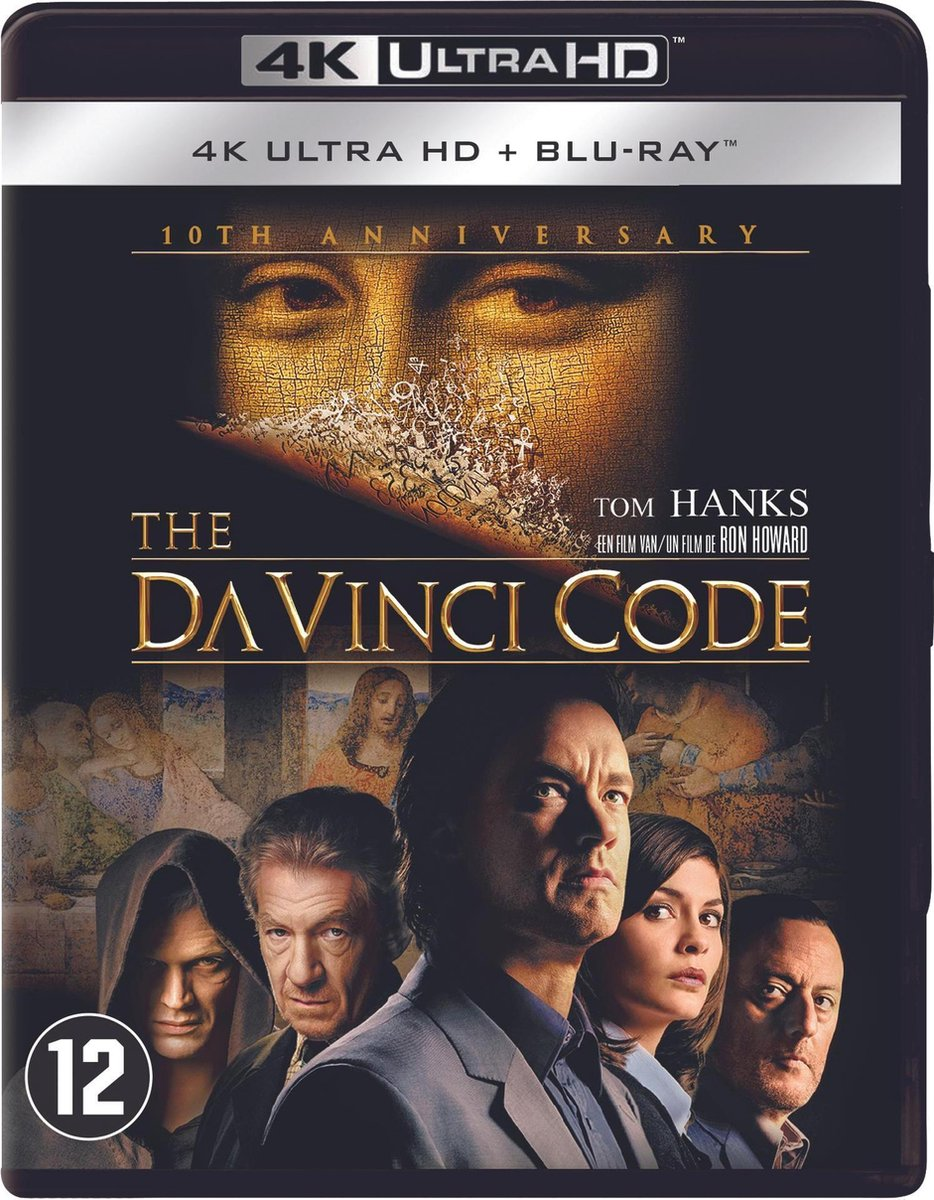 The Da Vinci Code (4K Ultra HD Blu-ray)-