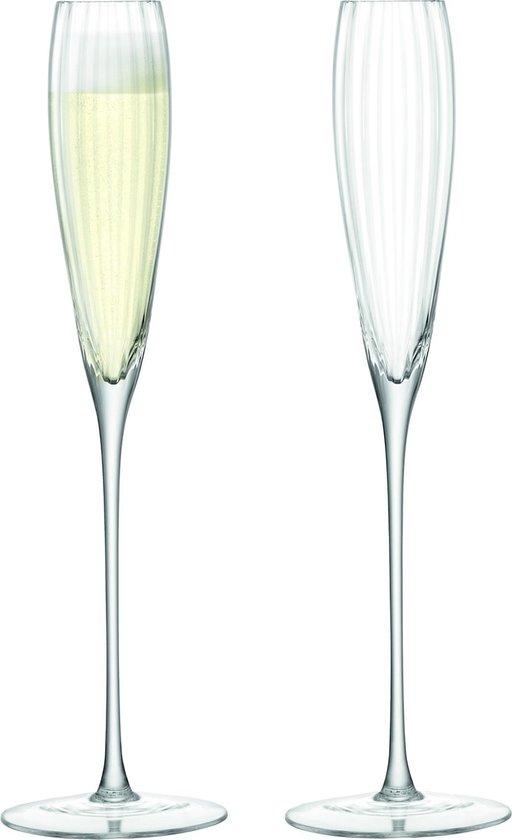 Aurelia Flute Grand Champagneglas - Transparant - 165 ml - 2 stuks
