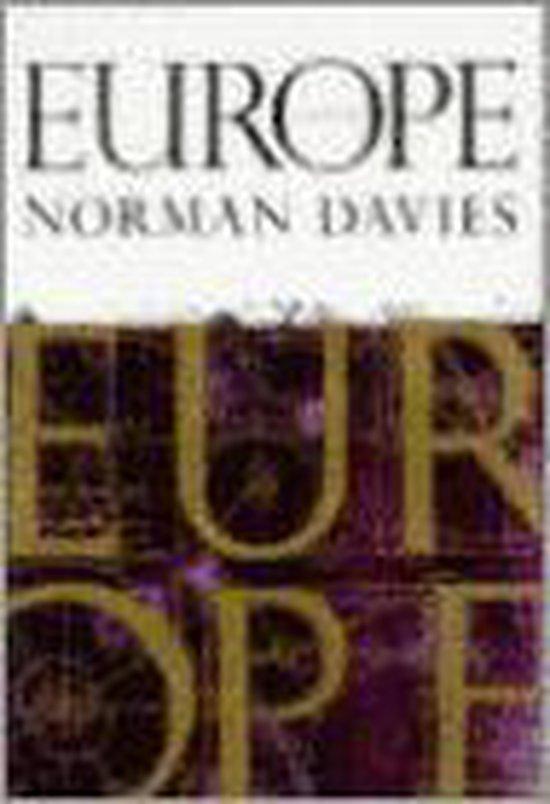 Boek cover Europe van Norman Davies (Hardcover)