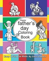 Happy Father's Day Coloring Book