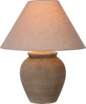 Lucide RAMZI - Tafellamp - Ø 35 cm - 1xE27 - Bruin