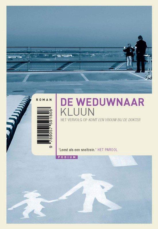 Boek cover De weduwnaar van Kluun (Onbekend)