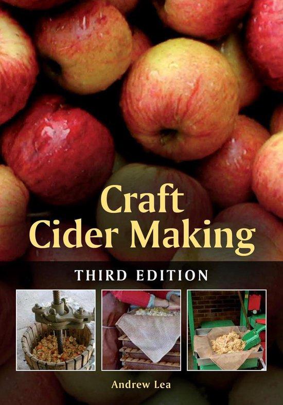 Boek cover Craft Cider Making van Andrew Lea (Onbekend)