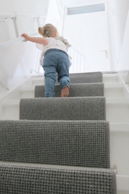 Mippaa Stair Trainer Basisset - Kindertrapleuning - Wit