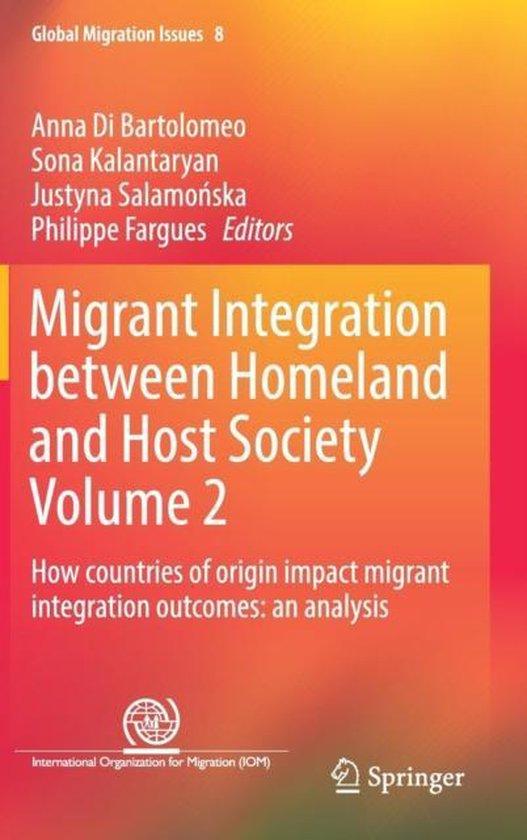 Boek cover Migrant Integration between Homeland and Host Society Volume 2 van  (Hardcover)