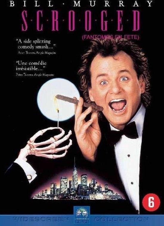 Cover van de film 'Scrooged'