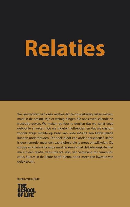 Relaties - The School of Life |