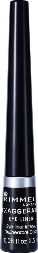 Rimmel London Exaggerate Eyeliner - 01 Black