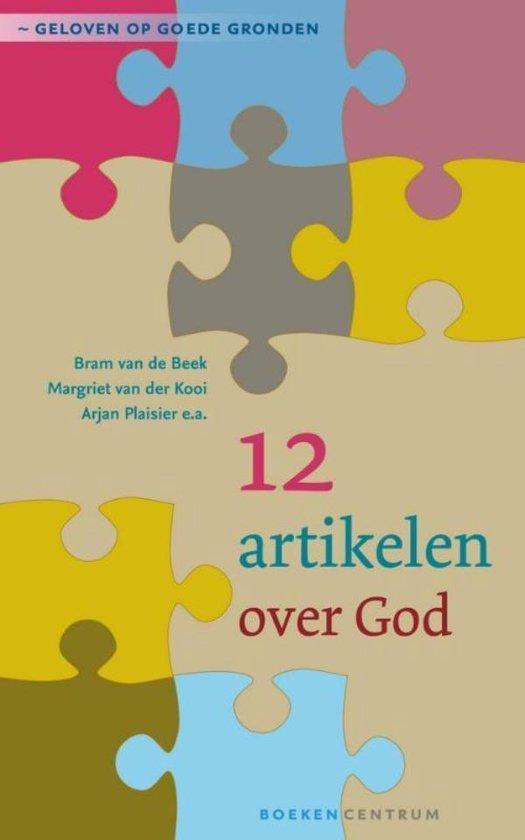 Cover van het boek '12 artikelen over God' van Bram van de Beek